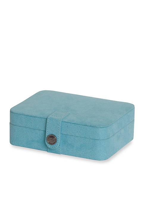 Mele & Co. Giana Plush Fabric Jewelry Box
