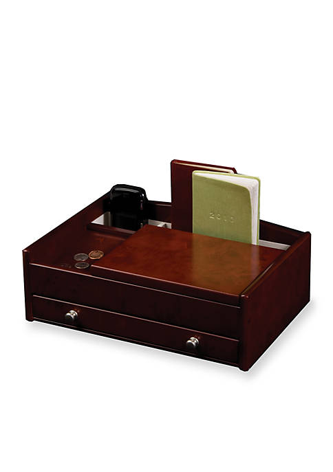 Mele & Co. Davin Mens Wooden Dresser Top