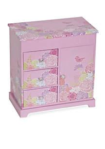Mele & Co. Pearl Girl's Musical Ballerina Jewelry Box