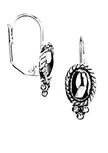Pierced Drop Earrings