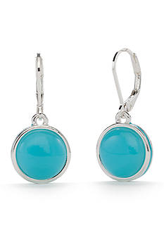 Napier Brite Spot Circle Drop Earring