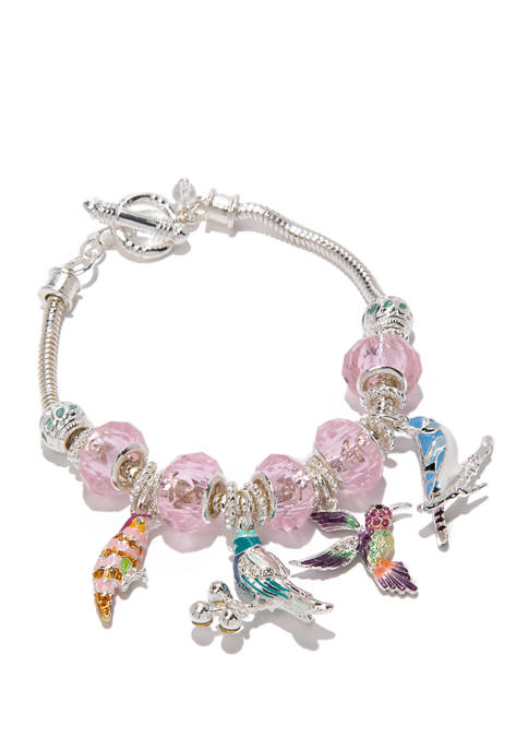 Napier Boxed Bird Flex Bracelet