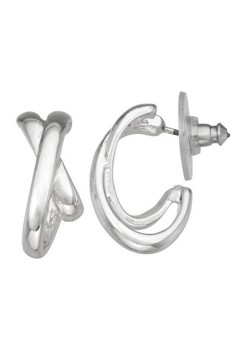 Napier Silver Tone 13 Millimeter Binds C Hoop