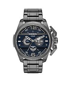 Men's Ironside Gunmetal Chronograph Blue Dial Watch