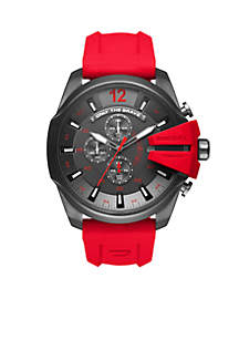 Men's Silicone Chronograph Watch