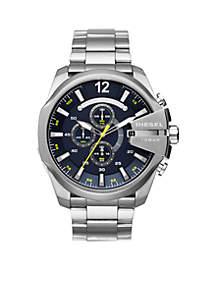 Men's Stainless Steel Chronograph Mega Chief Bracelet Watch