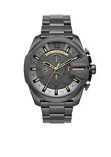 Men's Mega Chief Gunmetal IP Chronograph Watch