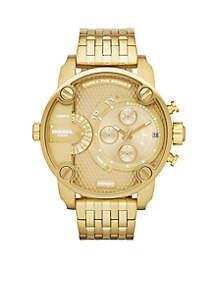 Diesel Men's Gold-Tone Stainless Steel Multi-Function Watch