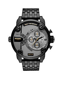Men's Stainless Steel Little Daddy Black IP Watch