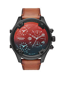 Boltdown Leather Watch