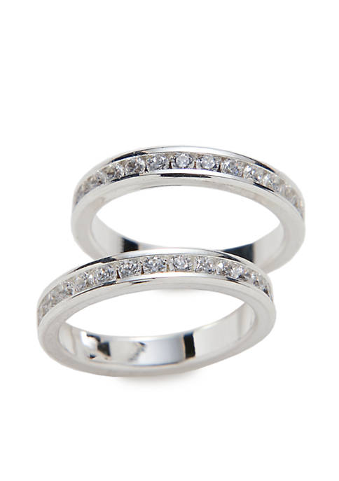 Kim Rogers® 2 Piece Eternity Band Box Ring