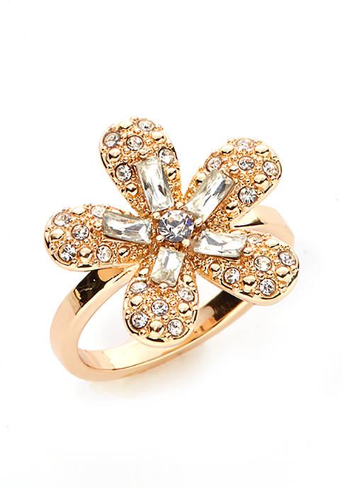 Kim Rogers® Boxed Flower Ring