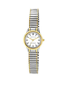 Women's Two-Tone Expansion Band Watch