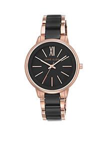 Women's Rose Gold-Tone Bracelet Watch