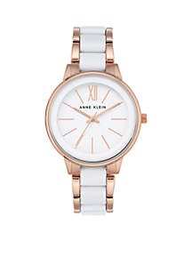 Women's Rose Gold-Tone Bracelet Watch