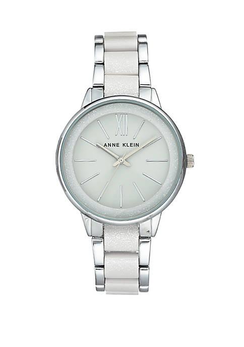 Silver Tone Bracelet Watch