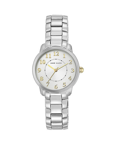 Anne Klein Womens Two-Tone Bracelet Watch