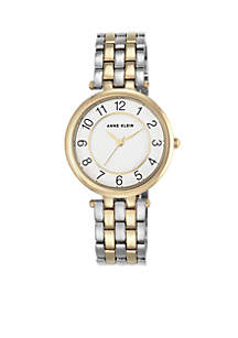 Women's Two-Tone Crystal Watch