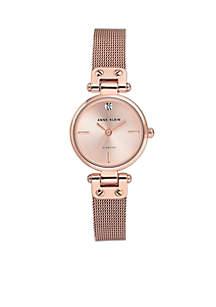 Stainless Steel Diamond Dial Bracelet Watch