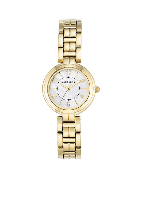 Anne Klein Gold-Tone Metal Watch