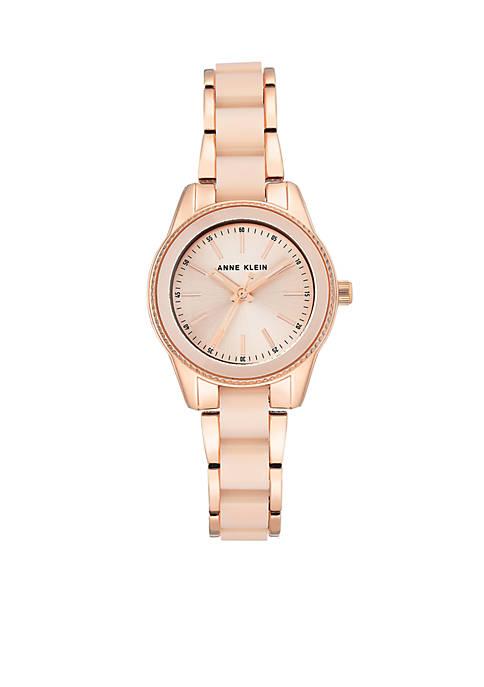 Anne Klein Rose Gold-Tone Watch