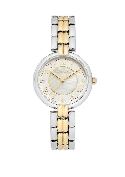 Anne Klein Easyread Two Tone Metal Watch