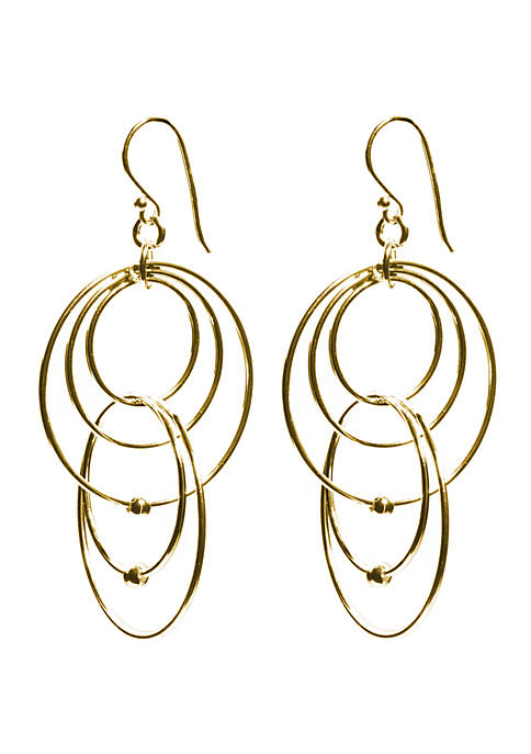 Belk Silverworks Gold Over Fine Silver Plated Multi