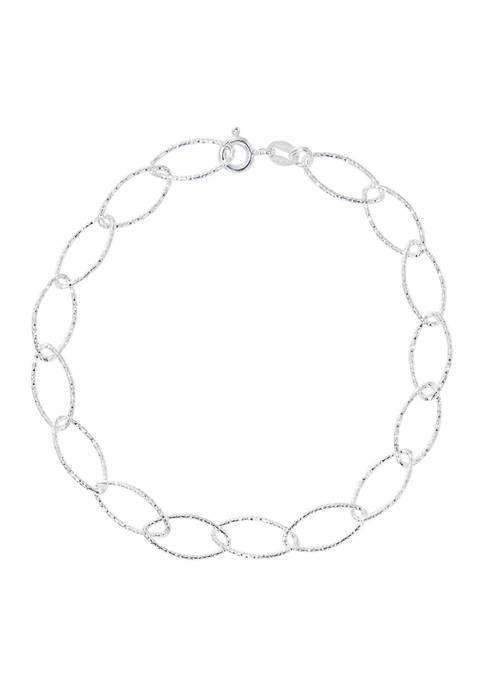 Belk Silverworks Silver Tone Bracelet