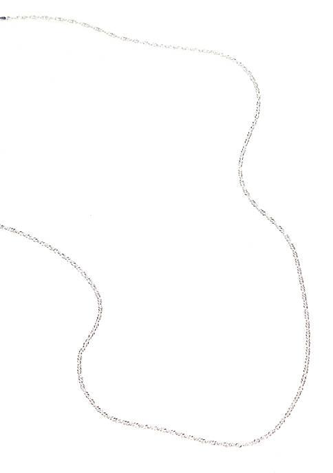 Belk Silverworks Silver 100 Singapore Neck Chain