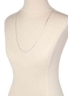 Belk Silverworks Silver-tone Fancy Rolo Chain Necklace Silver pJRRx