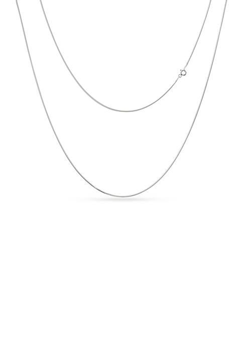 Belk Silverworks Pure 100 E Coat Necklace