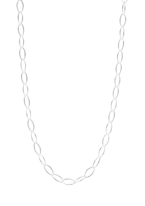 Belk Silverworks Silver Tone Chain