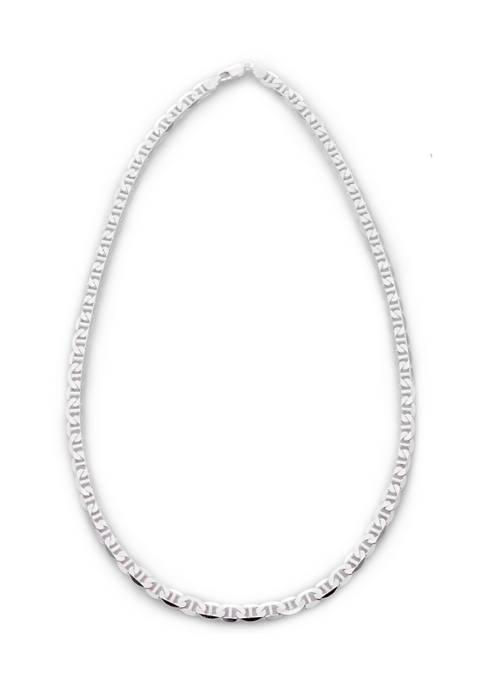 Primavera Italy Sterling Silver Marina Necklace