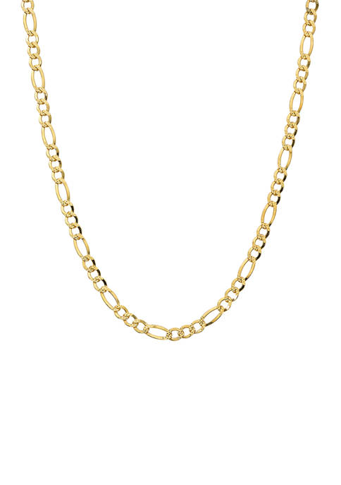 Belk Silverworks 20 Inch Figaro Chain Necklace