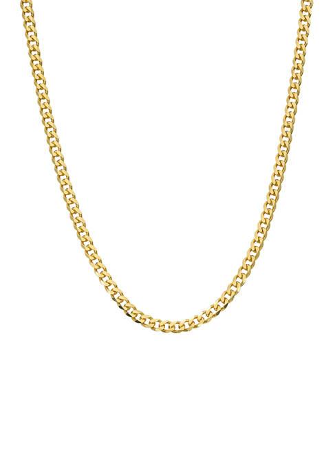 Belk Silverworks 24 Inch Curb Chain Necklace