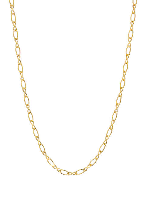 Belk Silverworks 18 Inch Figaro Chain Necklace