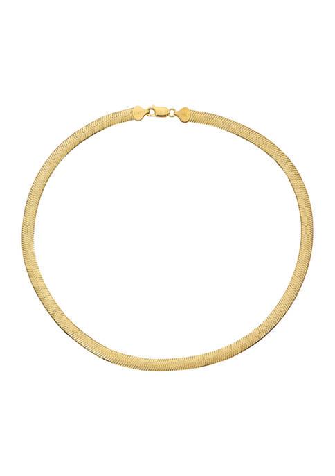 Belk Silverworks 18 Inch Omega Chain Necklace