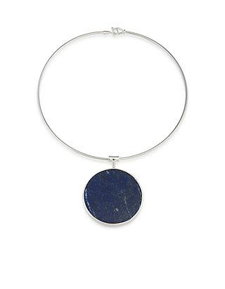 Lauren Ralph Lauren 6PM in New York Wire Pendant Necklace