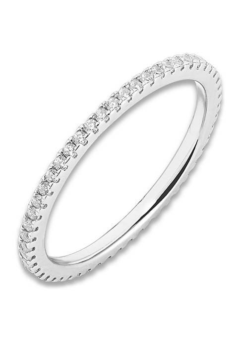 Belk Silverworks 3/4 ct. t.w. Cubic Zirconia Ring