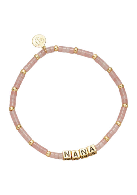 Gold Tone Nana Bracelet