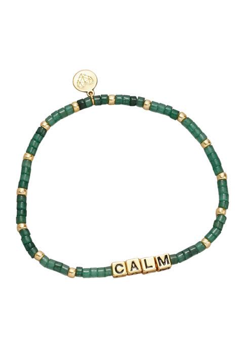 Belk & Co. Gold Tone Calm Bracelet