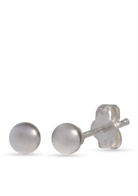 Belk Silverworks Simply Sterling 7-mm. Ball Stud Earrings