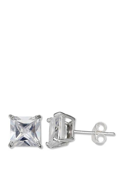 3/4 ct. t.w. Cubic Zirconia Stud Earrings