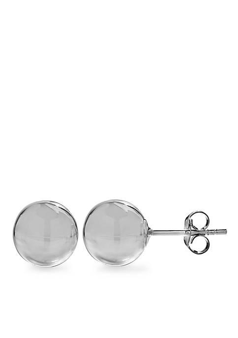 Belk Silverworks Ball Stud Earring