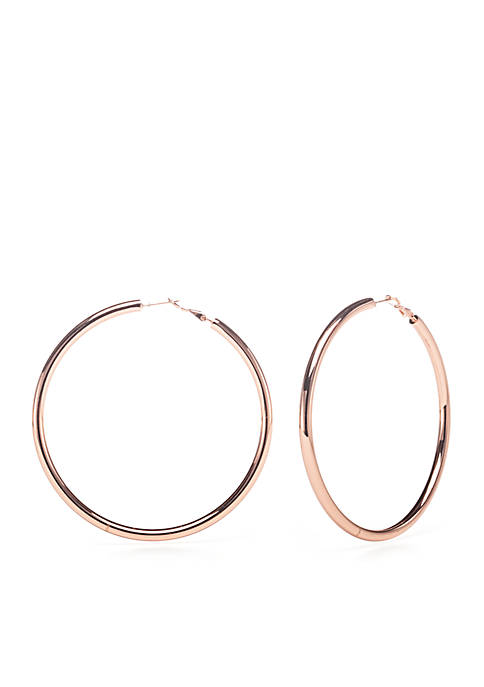 Belk Silverworks Rose Gold Plated Polished 75 mm