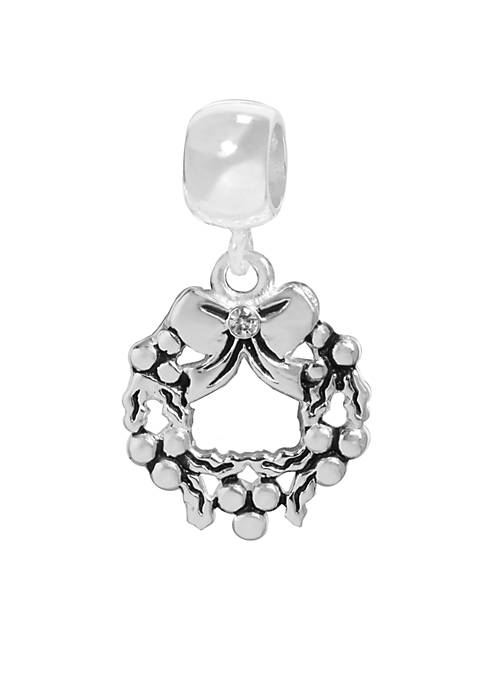 Belk Silverworks Drop Wreath Originality Bead
