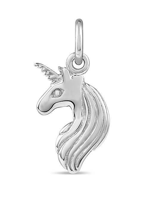 Southern Charm Sterling Silver Unicorn Charm