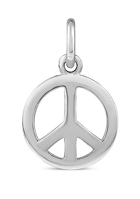 Belk Silverworks Southern Charm Sterling Silver Peace Sign