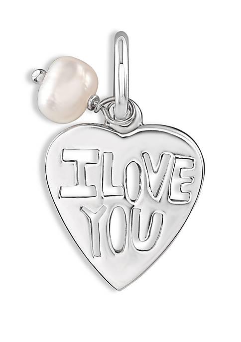 Belk Silverworks Southern Charm I Love You Charm