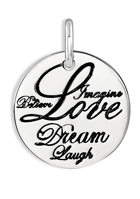 Belk Silverworks Southern Charm Love Dream Laugh Charm